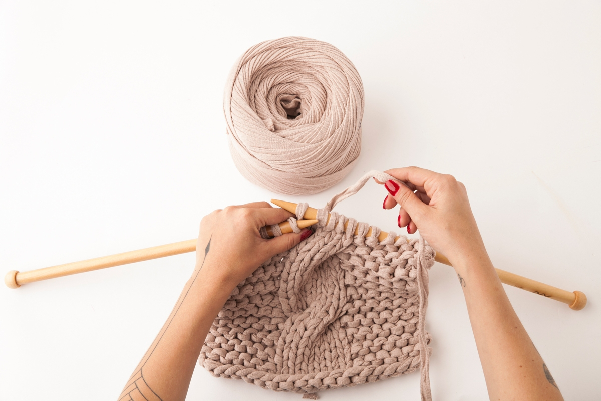 tricô artesanal