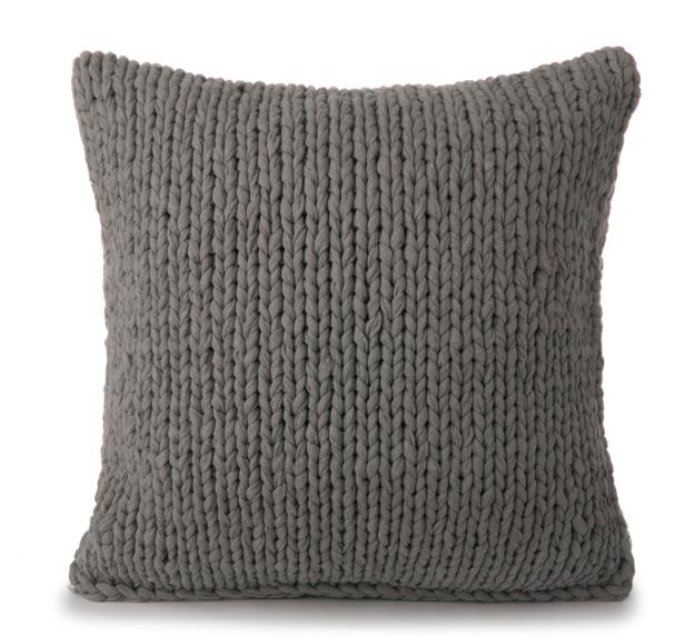 Almofada em tricô
